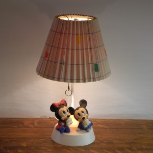 Lampe table Mickey mouse L'Allumeur luminaire 1943