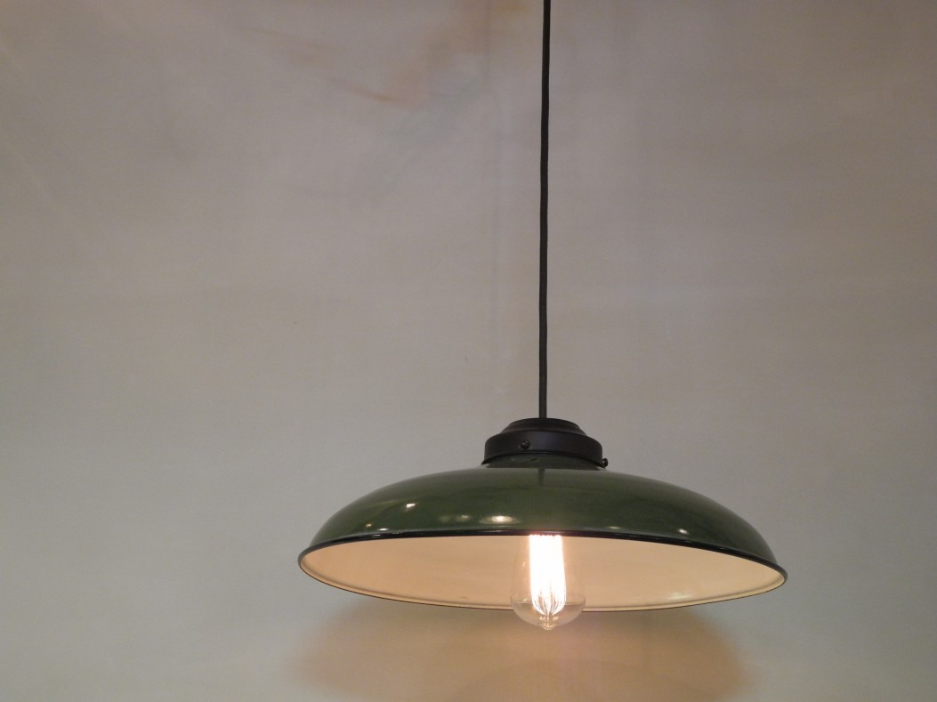 Lampe industrielle L'Allumeur luminaire suspension N.I.