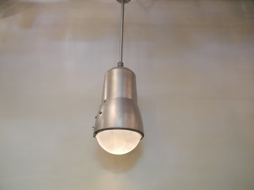 Lampe industrielle L'Allumeur luminaire suspension N.I.-65