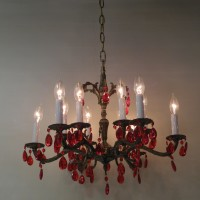 lustre suspension pampilles lallumeur 1824 XXX