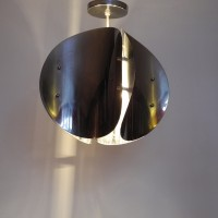 Lampe suspension chrome éclairage L'Allumeur